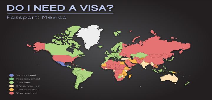 Travel Visa Info for Mexico